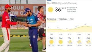 IPL 2021 MI vs PBKS Head to Head, Prediction, Fantasy Tips, Weather Forecast: Mumbai Indians vs Punjab Kings - Probable Playing 11s, Pitch Report, Squads For Match 42 at Sheikh Zayed Stadium