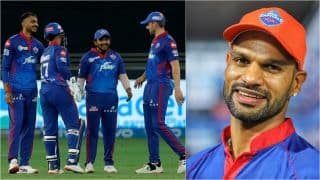 IPL 2021 Points Table: Delhi Claim No.1 Spot After Win Over Hyderabad; Dhawan Swells Lead in Orange Cap Tally