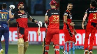 IPL 2021 Points Table Today Latest After RCB vs MI, Match 39: Royal Challengers Bangalore Consolidate No.3 Spot, Mumbai Indians Slip to 7th; Harshal Patel Extends Lead on IPL Purple Cap List