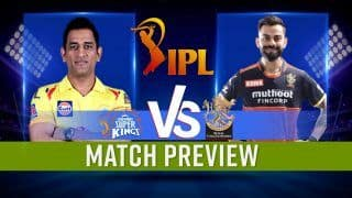 IPL 2021 CSK vs RCB: Probable Playing 11s, Pitch Conditions, Head-to-Head, Live Match Time