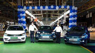 Tata Motors Reaches 10,000 EV Sales Milestone: Nexon EV, Tigor EV, Xpres-T EV In Current Portfolio