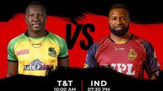 JAM vs TKR Dream11 Team Prediction, Fantasy Tips CPL T20 Match 19: Captain, Vice-captain- Jamaica Tallawahs vs Trinbago Knight Riders, Playing 11s, Team News For Today's T20 at Warner Park at 7:30 PM IST September 7 Tuesday