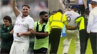 IND vs ENG: Pitch Invader Jarvo 69 Arrested For Security Breach During 4th Test, Bumps Into Jonny Bairstow at Oval   WATCH VIDEO