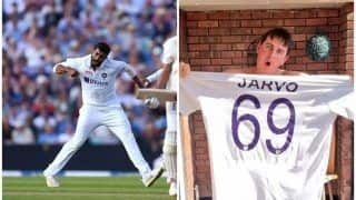 Pitch Intruder Jarvo Thanked Jasprit Bumrah Hilariously For Dismissing Jonny Bairstow at Oval, FB Post Goes Viral