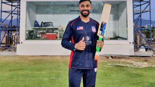 VIDEO: चंडीगढ़ के बल्लेबाज Jaskaran Malhotra ने वनडे इंटरनेशनल में जड़े 6 बॉल में 6 छक्के