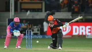 IPL 2021 Report: Roy, Williamson Shine in Hyderabad's 7-Wicket Win Over Rajasthan