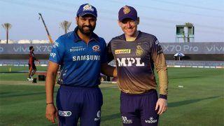 IPL 2021- MI vs KKR: कोलकाता ने टॉस जीता पहले करेगी फील्डिंग, मुंबई की टीम में कप्तान Rohit Sharma लौटे