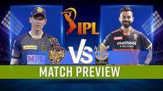 RCB vs KKR IPL 2021: कोलकाता नाइट राइडर्स vs रॉयल चैलेंजर्स बैंगलोर Playing 11s, Sheikh Zayed Stadium पिच रिपोर्ट, Abu Dhabi में मौसम का हाल