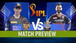 IPL 2021 KKR vs RCB: Predicted Playing 11s, Pitch Conditions, Abu Dhabi Weather, Telecast Info | Watch Video