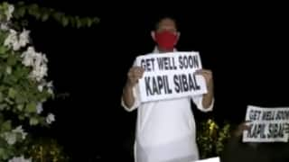 'Get Well Soon': Congress Workers Protest Outside Kapil Sibal's House For His 'Not Ji Huzoor-23' Remark