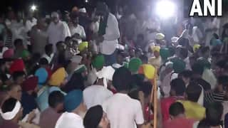 Kisan Mahapanchayat: Protesting Farmers Camp Outside Govt Offices in Karnal After Talks With State Fail | 10 Points