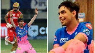 IPL 2021: Sanju Samson Refers to Kartik Tyagi as 'Brett Lee' After Last Over Heroics vs Punjab, Video Goes Viral | WATCH