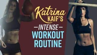 Aspiring To Get A Toned Body Like Katrina Kaif ? Have A Look At Her Intense Workout Routine