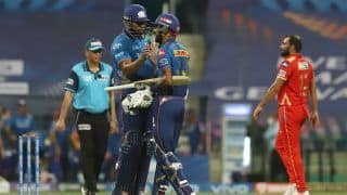 IPL 2021 Today Match Report, MI vs PBKS 2021 Scorecard: Kieron Pollard, Hardik Pandya Guide Mumbai Indians to 6-Wicket Win Over Punjab Kings