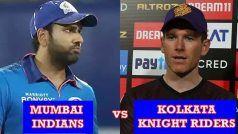 Live Score and Updates, MI vs KKR, IPL 2021: अगर कोलकाता जीता तो टॉप-4 से बाहर हो जाएगी मुंबई, 7 बजे होगा टॉस