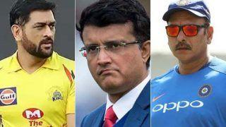 गांगुली ने Dhoni की T20 WC में मौजूदगी को एशेज से जोड़ा, शास्त्री पर कार्रवाई के सवाल पर कही ये बात