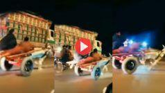 Donkey Race Ka Funny Video: गधों की दौड़ में पीछे लेट गया शख्स, फिर हुआ कुछ ऐसा हंसी ना रुकेगी | देखिए ये मजेदार वीडियो