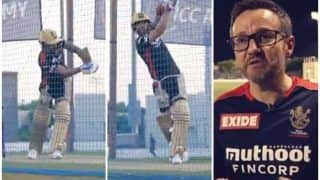 IPL 2021: Virat Kohli Has Extended Net Session Ahead of RCB vs CSK; Coach Mike Hesson Says 'He's Desperate to do Well' | WATCH VIDEO