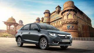 New Honda Amaze Drives Honda Cars India's August 2021 Domestic Sales to 49 Per Cent Growth