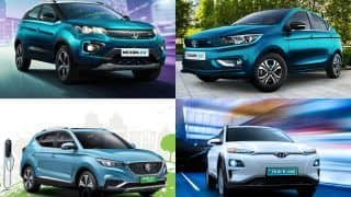 Top EVs Under Rs 25 lakh in India - Tata Nexon EV, Tata Tigor EV, MG ZS EV, Hyundai Kona Electric