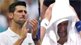 Novak Djokovic in Tears After US Open Final Defeat vs Daniil Medvedev; Sports Fraternity Reacts to World No.1's Upsetting Loss