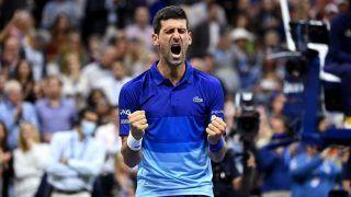 US Open 2021: Novak Djokovic Promises to Put 'Heart, Soul And Body' in History-Awaiting Final vs Daniil Medvedev