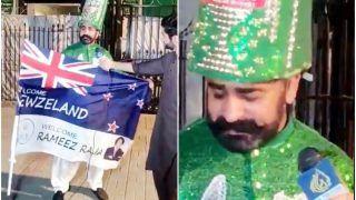 Video: न्यूजीलैंड का झंडा फाड़ देता लेकिन... दौरा रद्द होने पर रो पड़ा फैन