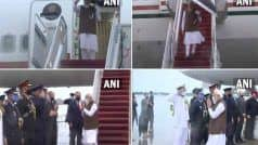 PM Modi US Visit: प्रधानमंत्री मोदी वॉशिंगटन पहुंचे, लोगों ने तिरंगा लहराते हुए किया भव्य स्वागत