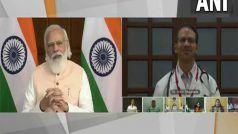 मेरे जन्मदिन पर 2.5 करोड़ टीके लगने से एक राजनीतिक दल को बुखार आ गया: PM मोदी