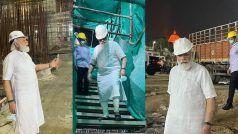 PM Modi at New Parliament Building: नए संसद भवन के निर्माण स्थल अचानक पहुंचे पीएम मोदी, एक घंटे तक किया निरीक्षण