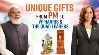 Unique Gifts From PM Modi to US VP Kamala Harris And Quad Leaders: EXCLUSIVE VIDEO