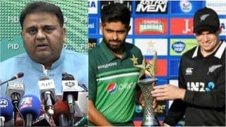 Pakistan Minister Blames India For Sabotaging New Zealand Series, Claims Threatening Email Came From Unknown Device