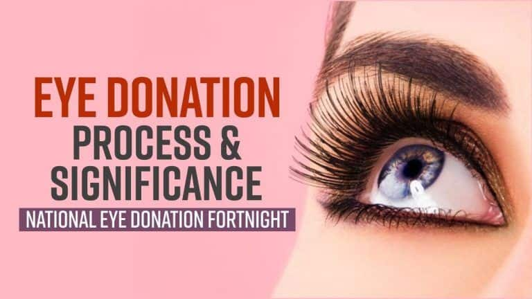 National Eye Donation Fortnight : What Is The Process And Significance Of Eye Donation? Explained