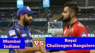Live Score and Updates RCB vs MI, IPL 2021: आज होगा रोहित-विराट की टीमों का मुकाबला, कौन किसपर है भारी ?