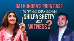 Shocking! क्या सच में राज कुंद्रा की चार्जशीट में है शिल्पा शेट्टी  का नाम बतौर विटनेस ? :Raj Kundra Chargesheet