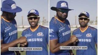 WATCH | SKY Reminds CSK of Pollard Threat in UNIQUE Style Ahead of IPL's El Classico
