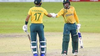 SL vs SA, 3rd T20I: साउथ अफ्रीका ने श्रीलंका को 10 विकेट से रौंदा, सीरीज में 3-0 से क्लीन स्वीप