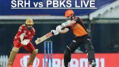 IPL 2021, SRH vs PBKS Highlights: काम नहीं आई Jason Holder की तूफानी पारी, 5 रन से हारा सनराइजर्स