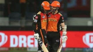 IPL 2021 SRH vs RR: सनराइजर्स की जीत पर खुश हुए कप्तान Kane Williamson, बोले- काफी सुधार हुआ