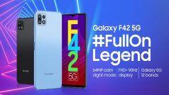 29 सितंबर को भारत में लॉन्च होगा Samsung Galaxy F42 5G स्मार्टफोन, जानिए संभावित स्पेसिफिकेशन्स