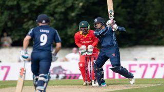SCO vs ZIM, 1st T20I: स्कॉटलैंड ने जिम्बाब्वे को 7 रन से हराया, सीरीज में 1-0 से लीड