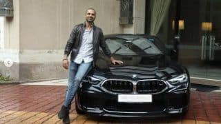 Shikhar Dhawan Buys BMW M8 Coupe. Here Is Why This Beast Worth Rs 2.18 Crore Is So Special