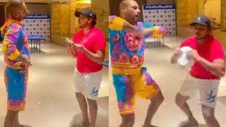 IPL 2021: धवन-पृथ्वी ने वायरल मीम 'आज सब्जी नहीं पोहे बनेंगे' पर बनाया Video,अय्यर-SKY ने किया मजेदार कमेंट