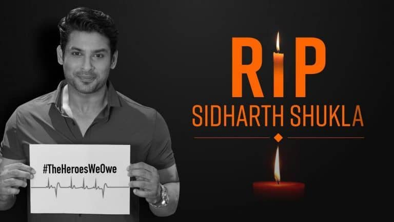 Shocking ! Bigg Boss 13 Winner Sidharth Shukla Passes Away at 40 Due To Heart Attack   Details Inside