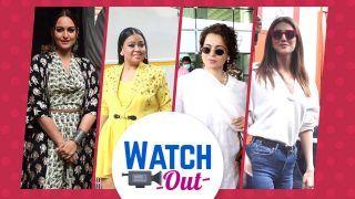 Watch Out: ऑनस्क्रीन हो या ऑफस्क्रीन भारती सिंह नहीं छोड़ती कोई मौका मस्ती करने का, अभिषेक बच्चन ,सोनाक्षी भी हुई स्पॉट