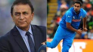 Ashwin's Selection in World T20 Squad May Be a Consolation Cup: Sunil Gavaskar