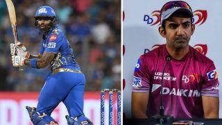 IPL 2021- अपनी कप्तानी में Suryakumar Yadav को नंबर 3 पर नहीं खिलाने का दुख है: Gautam Gambhir
