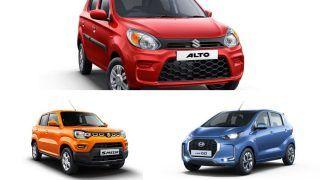 Top Cars Under Rs 4 Lakh. Details Inside