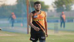 IPL 2021: टी नटराजन की जगह सनराइजर्स हैदराबाद में शामिल हुए जम्मू-कश्मीर के उमरान मलिक