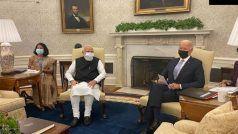 PM Modi US Visit Live: जो बाइडेन ने व्हाइट हाउस में गर्मजोशी से किया PM मोदी का स्वागत, दोनों नेताओं के बीच पहली द्विपक्षीय बैठक जारी